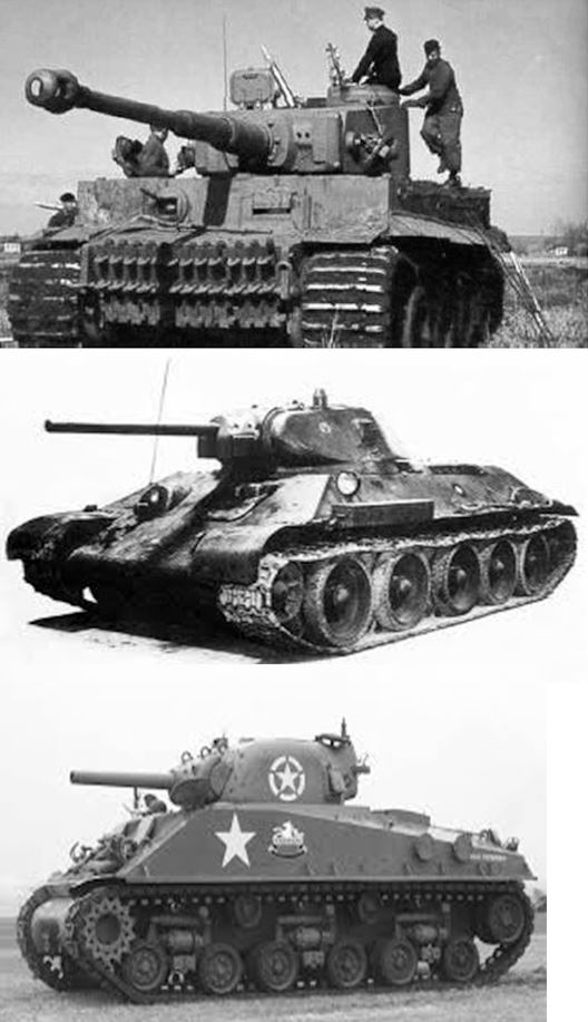 Három tank