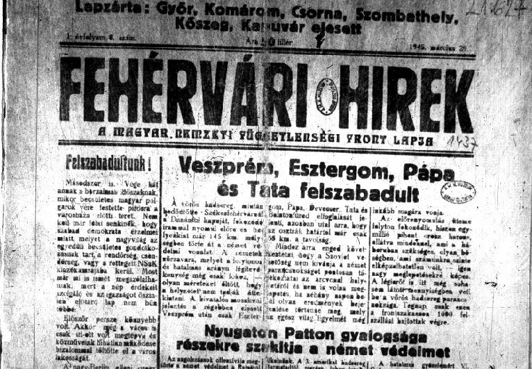 Fehérvári Hírek