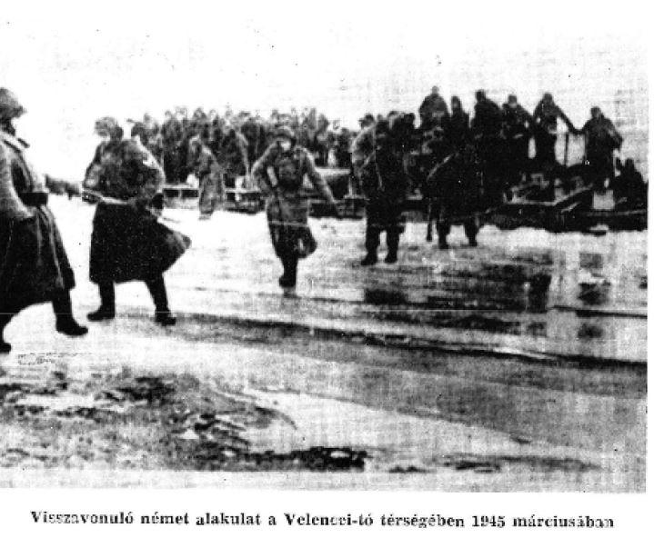 visszavonuló német alakulat a Velencei tó térségében FMTÉ IV