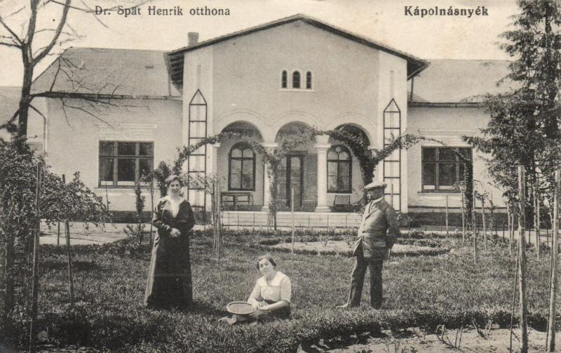 Kápolnásnyék Dr. Spät Henrik otthona