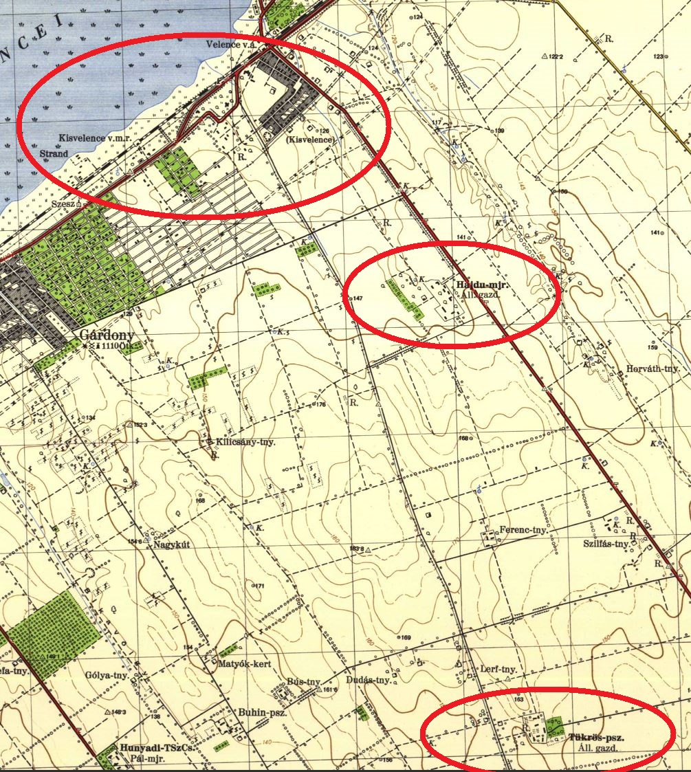 velencefürdő térkép Kisvelence, Velencefüred, Velencefürdő –településrészek, utcák  velencefürdő térkép