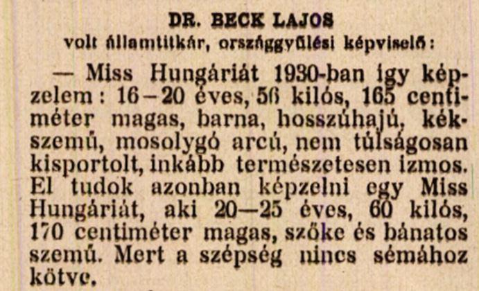 1929 szepseg