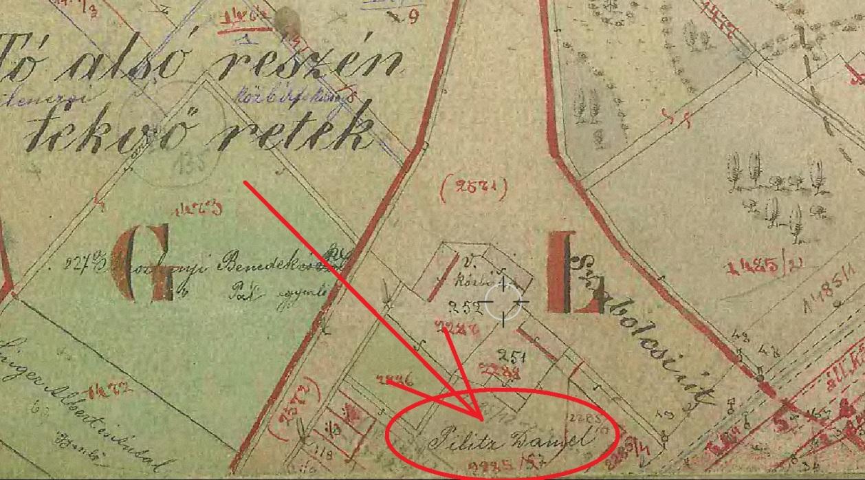 1884 kat terkep Pilitz