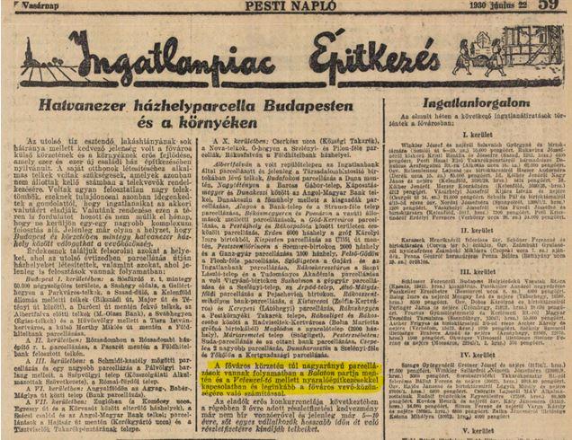 1930 ingatlanpiac