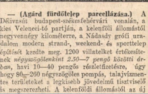 1931 Nádasdy