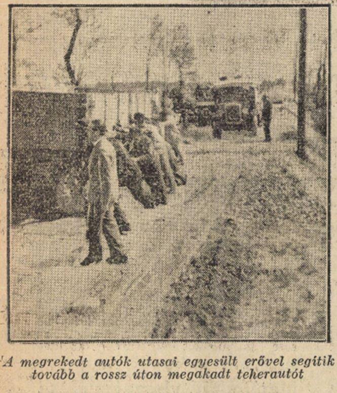 1935 Balatoni ut dugo
