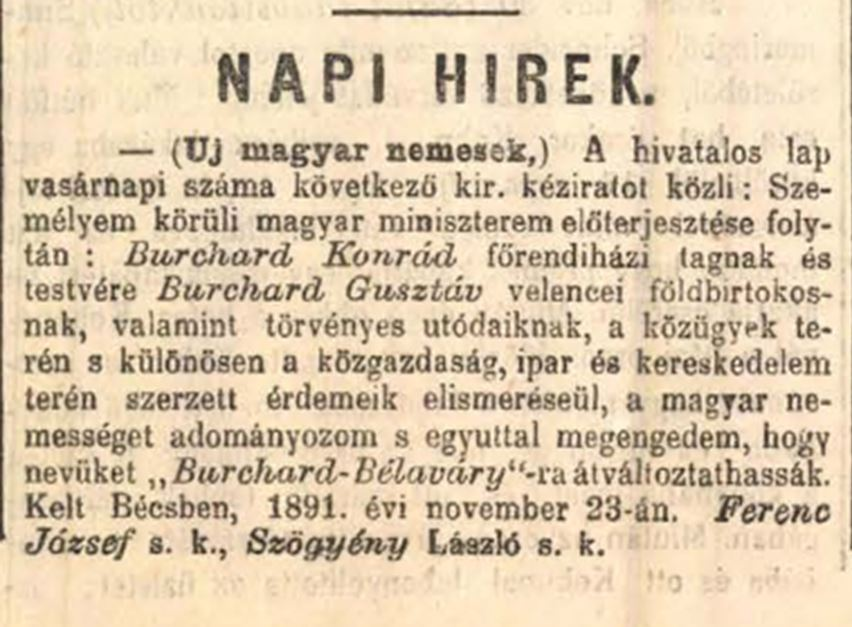 1891 Bélaváry