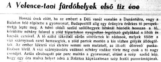 1933 cikk kezdete