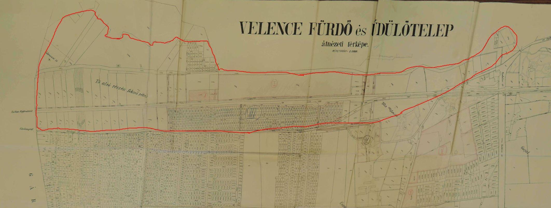 Velence dél 1936 nagyon kicsi