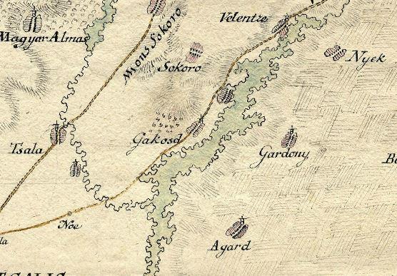 Mikoviny Fejér m 1742