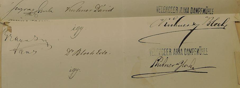 1874 aláírási cimpld