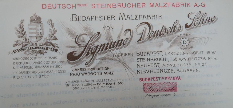 Deutsch fejléc