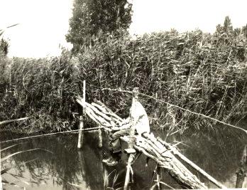 Varga Nagyapa horgászik 70 es