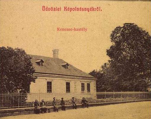 1911 Kenessey kastély