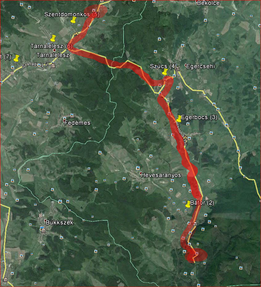 1 etap 25 km